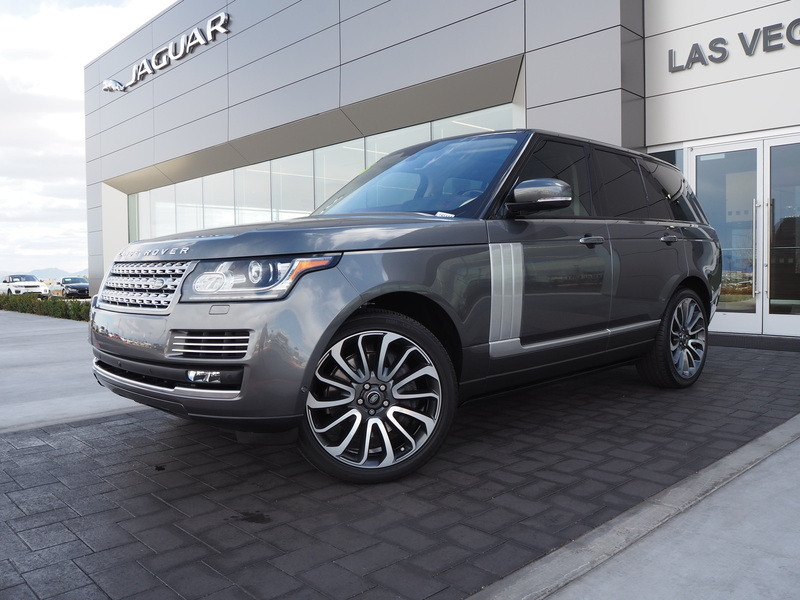 Pre-Owned 2016 LAND ROVER RANGE ROVER AUTOBIOGRAPHY