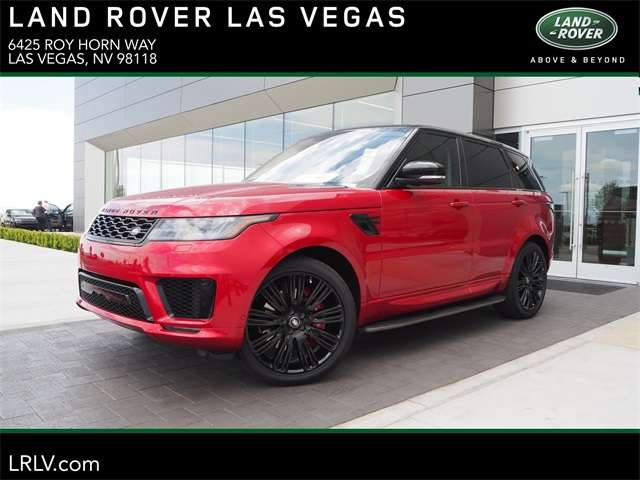 Range Rover Las Vegas >> New 2019 Land Rover Range Rover Sport Supercharged With Navigation 4wd