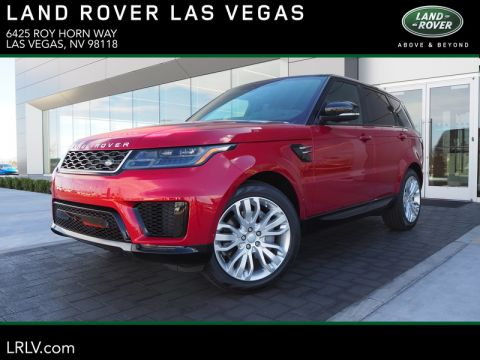 New 2019 LAND ROVER RANGE ROVER SPORT V6 SUPERCHARGED HSE